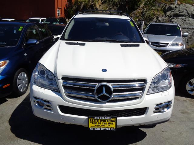 2007 MERCEDES-BENZ GL-CLASS GL450 AWD 4MATIC 4DR SUV arctic white navigation heated seats backup