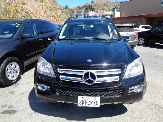 2007 MERCEDES-BENZ GL-CLASS GL450 AWD 4MATIC 4DR SUV black rear spoilerair filtrationcenter con