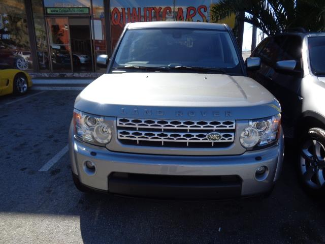 2012 LAND ROVER LR4 HSE 4X4 4DR SUV orkney grey navigation heated seats 3rd row seat backup ca
