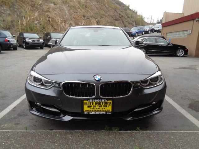 2012 BMW 3 SERIES 328I 4DR SEDAN SULEV mineral grey  metallic sport package navigation moon roo