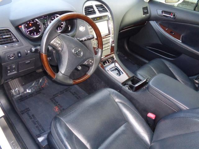 2012 LEXUS ES 350 BASE 4DR SEDAN starfire pearl navigation backup camera heated seats body side