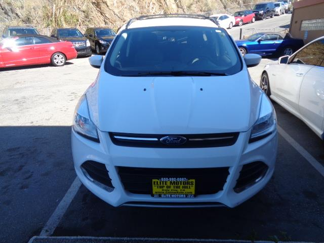 2013 FORD ESCAPE SE AWD 4DR SUV white rear spoiler - rooflinedoor handle color - body-colorexha