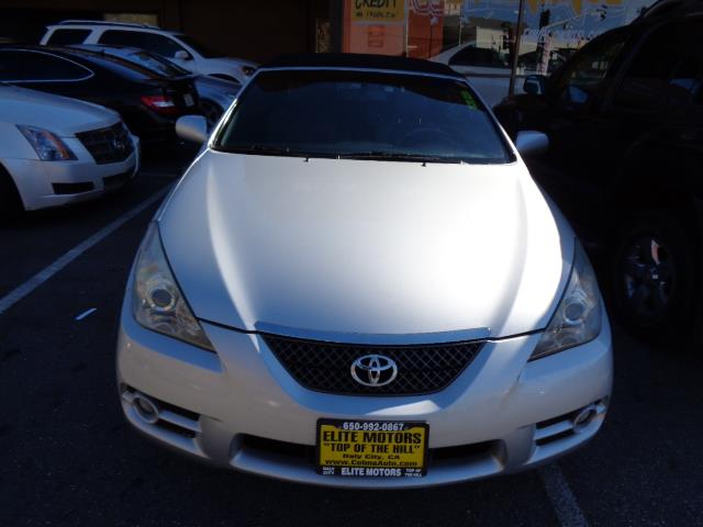 2007 TOYOTA CAMRY SOLARA SLE CONVERTIBLE titanium metallic bluetooth heated seats leather 7556