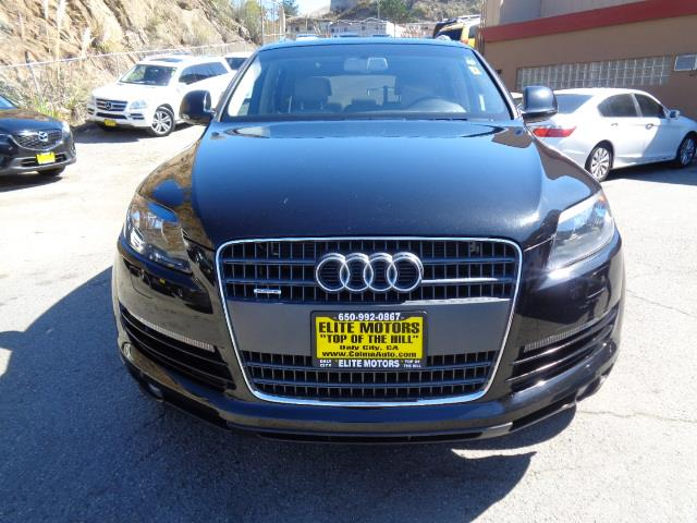 2008 AUDI Q7 36 PREMIUM QUATTRO AWD 4DR SUV black rear spoilerroof rack color - chromeair filt
