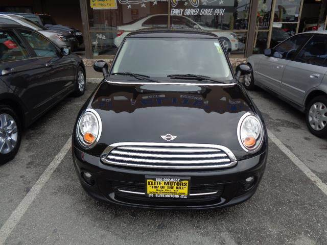 2012 MINI COOPER HARDTOP BASE 2DR HATCHBACK midnight black metallic panoramic roof heated seats