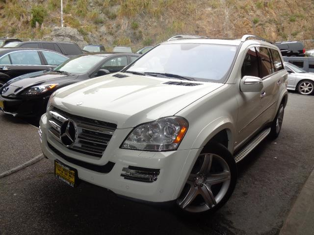 2010 MERCEDES-BENZ GL-CLASS GL550 AWD 4MATIC 4DR SUV arctic white p2 package navigation heated a