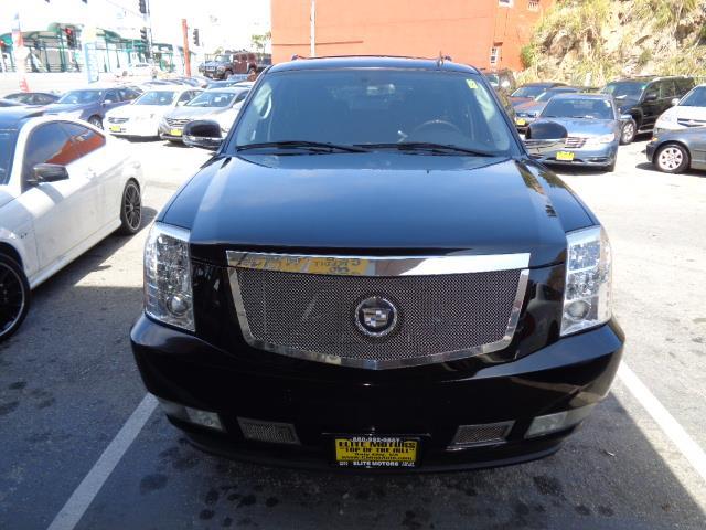 2007 CADILLAC ESCALADE BASE AWD 4DR SUV black raven running boards - stepfront license plate bra