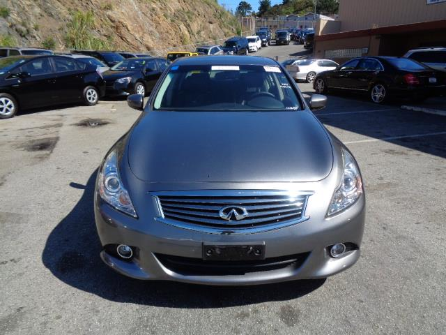 2012 INFINITI G37 SEDAN JOURNEY SEDAN graphite shadow journey navigation backup camera heated