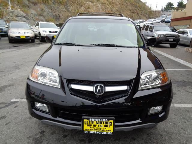 2005 ACURA MDX TOURING WNAVI AWD 4DR SUV black navigation heated seats moon roof center console