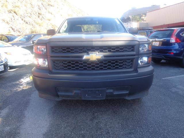 2014 CHEVROLET SILVERADO 1500 WORK TRUCK brown 4 doors 4-wheel abs brakes air conditioning aut