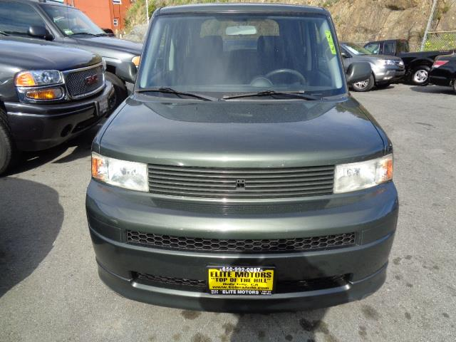 2004 SCION XB BASE 4DR WAGON camouflage metallic rare 5 speed manual rear spoilerfront air condi