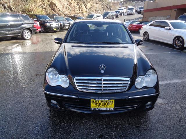 2007 MERCEDES-BENZ C-CLASS C280 LUXURY 4DR SEDAN black power door locks vehicle anti-theft abs