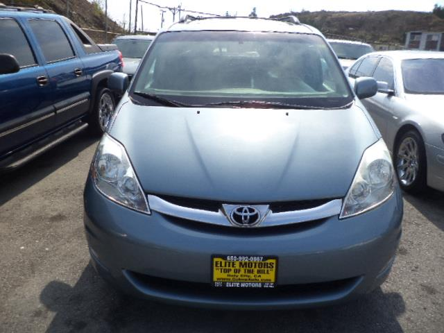 2007 TOYOTA SIENNA XLE LIMITED sky blue metallic navigation dvd moon roof dual sliding doors l
