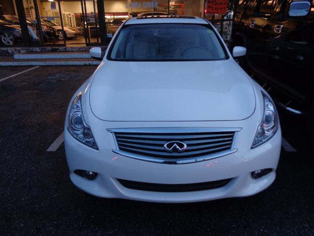 2011 INFINITI G37 SEDAN JOURNEY SEDAN moonlight white navigation backup camera ipod heated seat