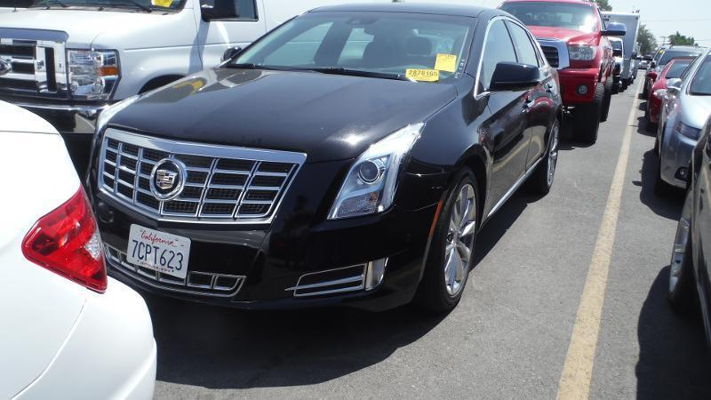 2014 CADILLAC XTS PREMIUM COLLECTION 4DR SEDAN black navigation backup camera body side moldings