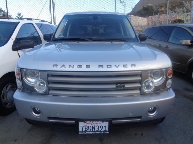 2004 LAND ROVER RANGE ROVER HSE 4WD 4DR SUV silver child safety door locks power door locks veh