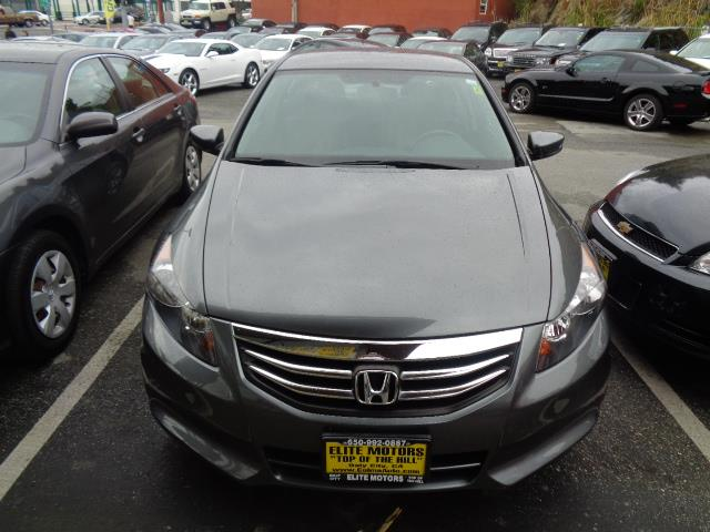 2012 HONDA ACCORD SE 4DR SEDAN polished metal metallic special edition with leather and heated se