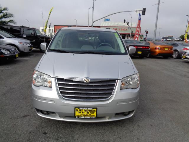 2010 CHRYSLER TOWN AND COUNTRY TOURING 4DR MINI VAN bright silver metallic clearco blackberry pear