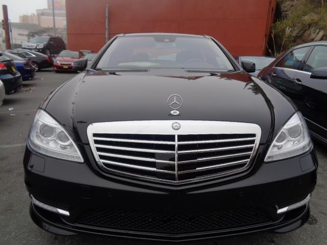 2013 MERCEDES-BENZ S-CLASS S550 4DR SEDAN black navigationpanoramic roof amg  sport package doo
