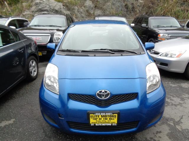 2011 TOYOTA YARIS BASE 4DR HATCHBACK 4A blazing blue pearl door handle color - body-colormirror c