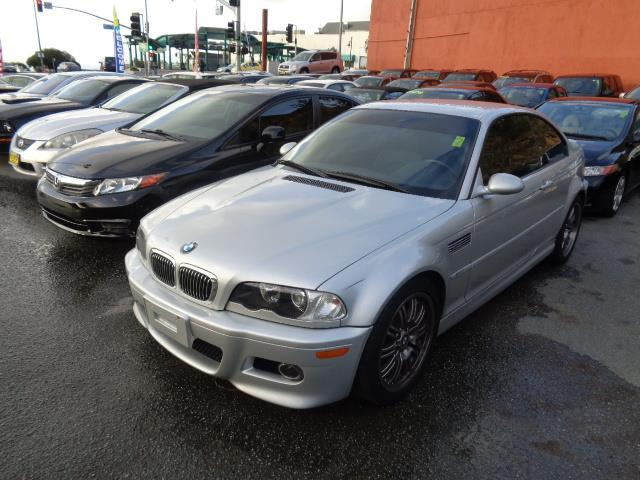 2005 BMW M3 BASE 2DR COUPE titanium silver rear spoilercenter console trim - alloydash trim - al