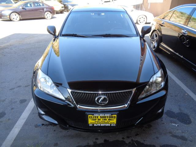 2008 LEXUS IS 250 BASE 4DR SEDAN 6A obsidian bumper color - body-colordoor handle color - body-c