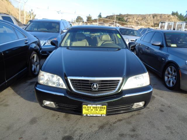 2002 ACURA RL 35 WNAVI 4DR SEDAN vermont green pearl navigation heated seats moon roof front a