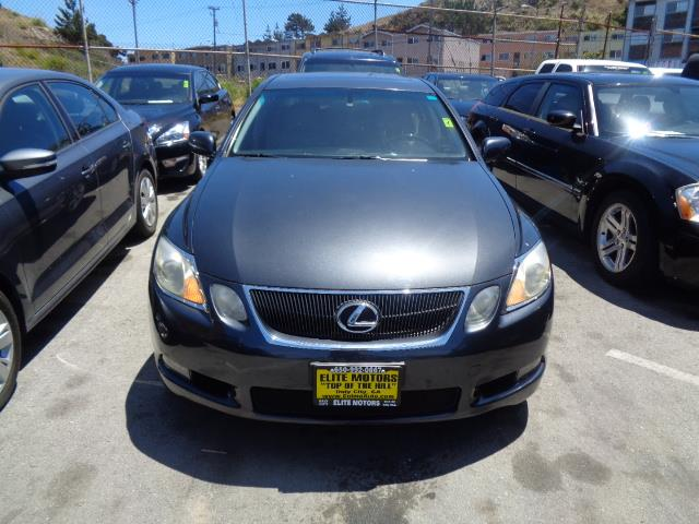 2007 LEXUS GS 350 BASE 4DR SEDAN smoky granite mica navigation air filtration - active charcoalc