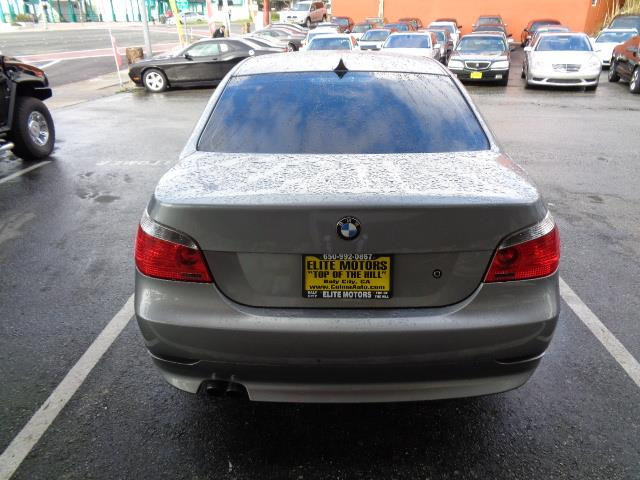 2005 BMW 5 SERIES 525I 4DR SEDAN silver grey metallic beverage coolercenter console trim - woodd