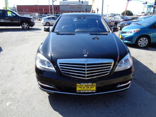 2012 MERCEDES-BENZ S-CLASS S550 4MATIC AWD 4DR SEDAN black 4matic chrome door handle insertsdesi