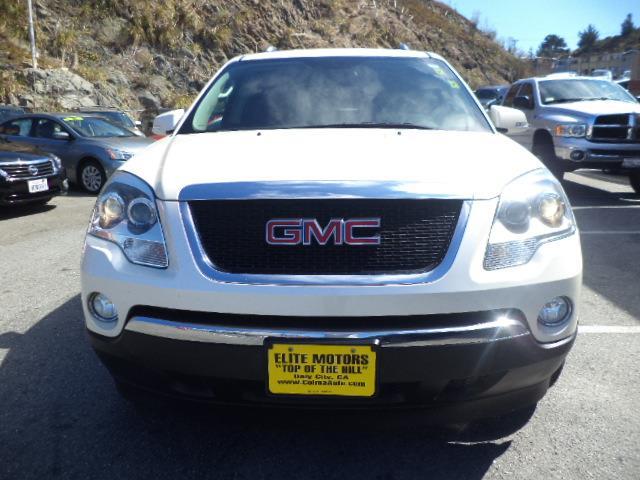 2009 GMC ACADIA SLT-1 AWD 4DR SUV pearl white bluetooth heated seats pearl white navigation 3