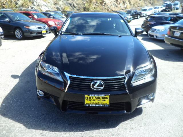 2013 LEXUS GS 350 BASE 4DR SEDAN obsidian one owner lease in brand new condition factory warranty