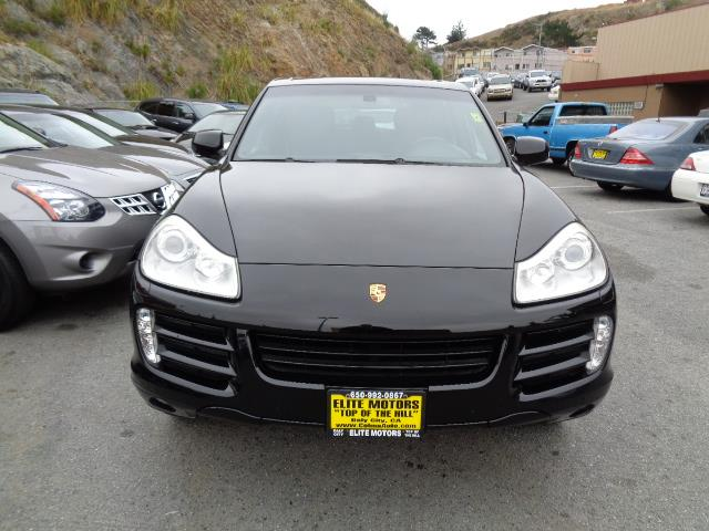 2008 PORSCHE CAYENNE S AWD 4DR SUV black rear spoilerair filtration - active charcoalbeverage c
