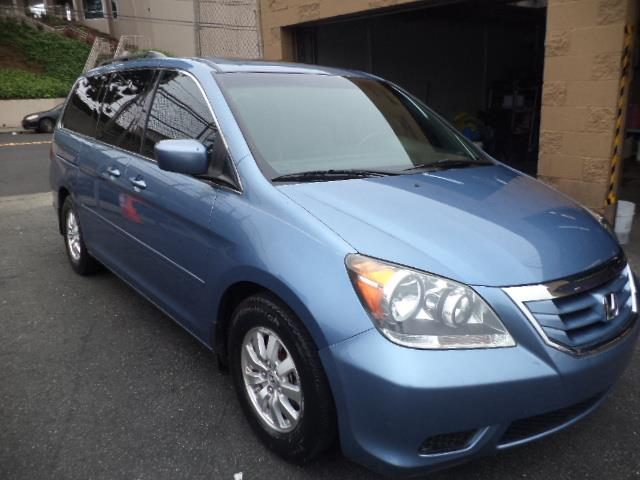 2008 HONDA ODYSSEY EX-L MINIVAN ocean mist metallic 1725 mpg navigation rear entertainment sun