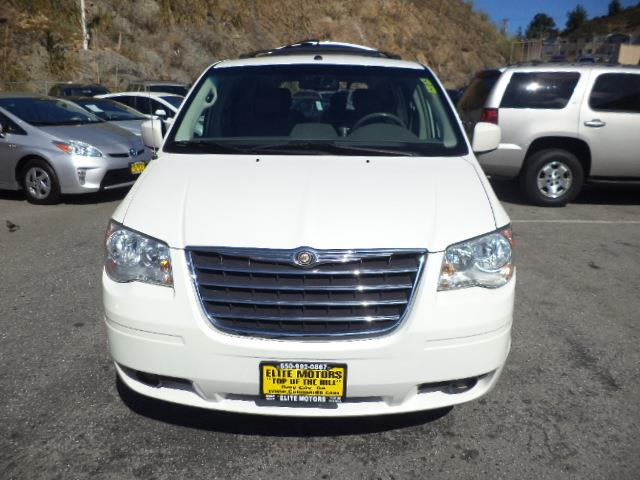 2008 CHRYSLER TOWN AND COUNTRY TOURING MINI VAN PASSENGER white diamond ike new leather navigati