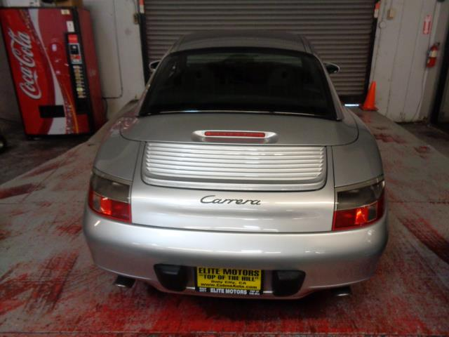 2001 PORSCHE 911 CABRIOLET arctic silver convertible 911 with removeable hard top included flawle