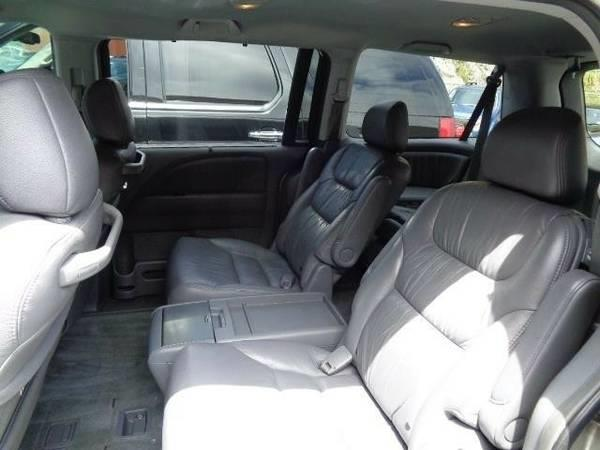 2006 HONDA ODYSSEY TOURING 4DR MINI VAN silver navigation leather dvd moon roof rear spoilera