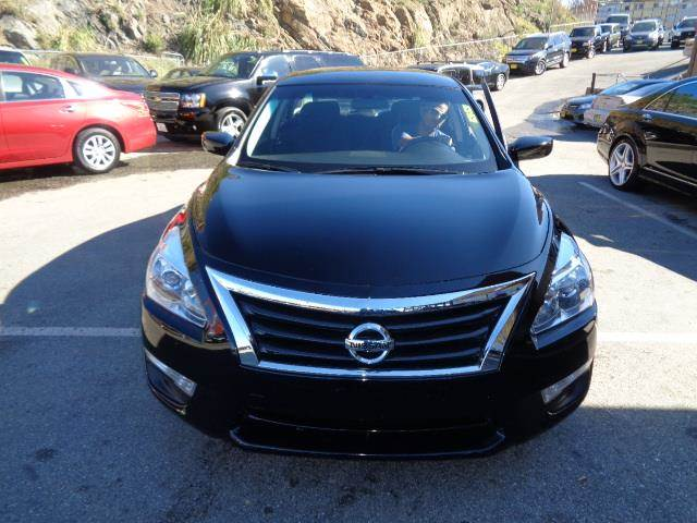 2014 NISSAN ALTIMA 25 S 4DR SEDAN black body side moldingbody side molding chromedoor handle c