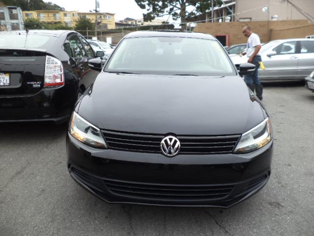 2014 VOLKSWAGEN JETTA 18T SE SEDAN black uni black on black warranty 30248 miles VIN 3VWD17A