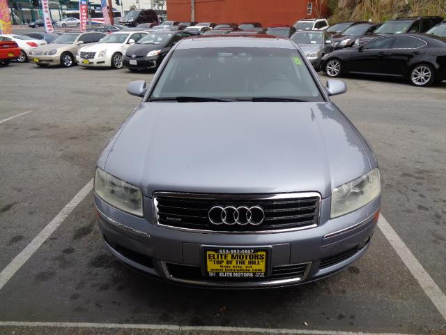 2005 AUDI A8 L QUATTRO AWD 4DR SEDAN silver blue metallic navigation loaded center console trim