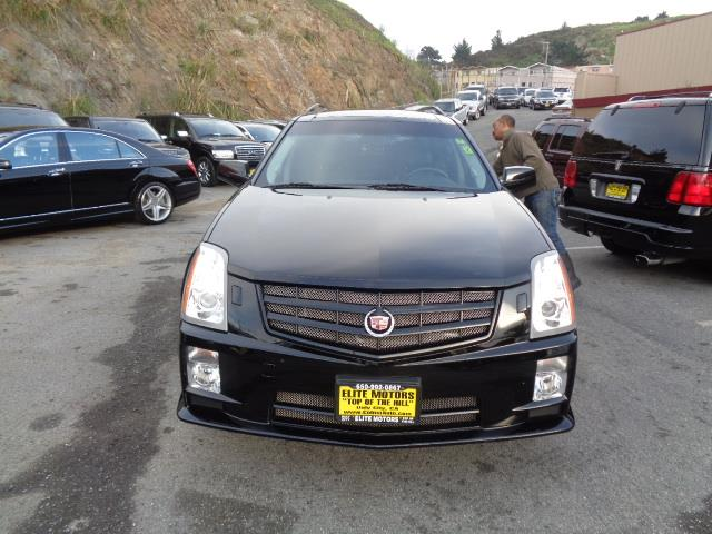 2008 CADILLAC SRX V8 4DR SUV black raven navigation heated seats 3rd row seat panoramic roof x