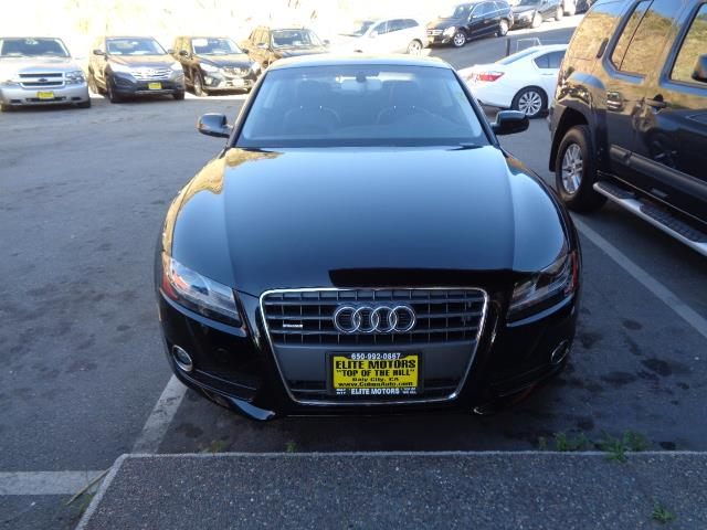 2012 AUDI A5 20T QUATTRO PREMIUM PLUS AWD 2D black bumper color - body-colorexhaust - dual exha