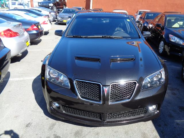 2008 PONTIAC G8 GT 4DR SEDAN black ls2 motor heated seats leather exhaust - quad exhaust tipse