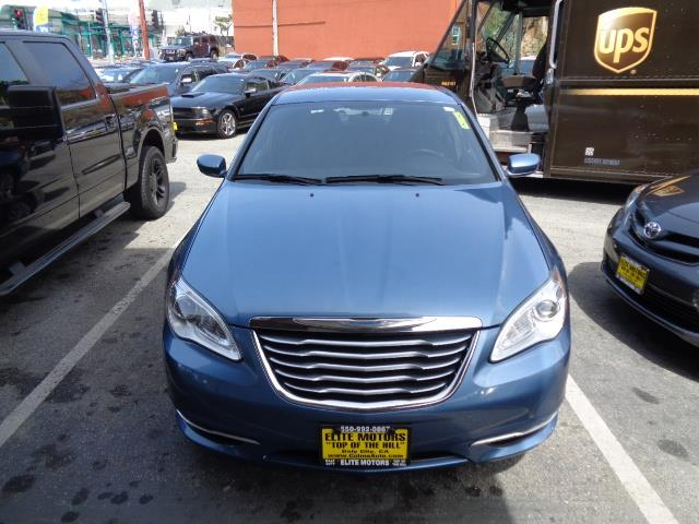 2011 CHRYSLER 200 TOURING 4DR SEDAN sapphire crystal metallic clea bumper color - body-colordoor