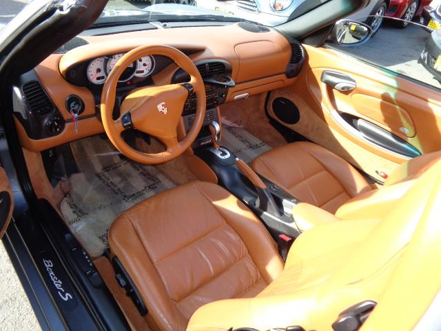 2003 PORSCHE BOXSTER S 2DR CONVERTIBLE seal grey red calipers aero kitcolor to sample paintlight