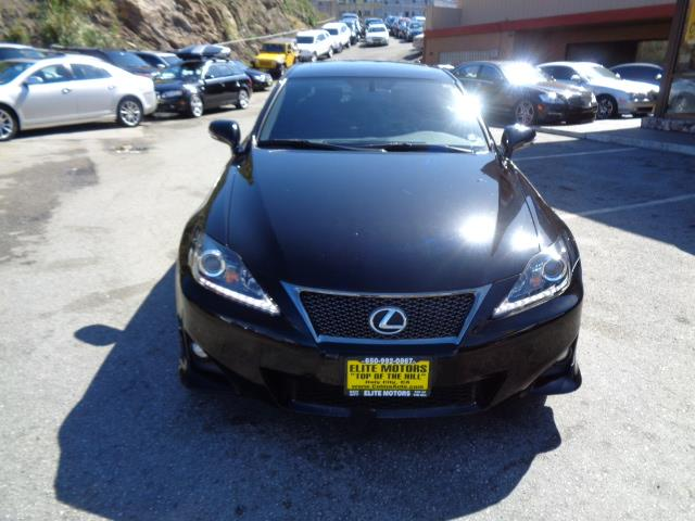 2012 LEXUS IS 250 BASE 4DR SEDAN 6A obsidian navigation backup camera heated seats bi-xenon hig