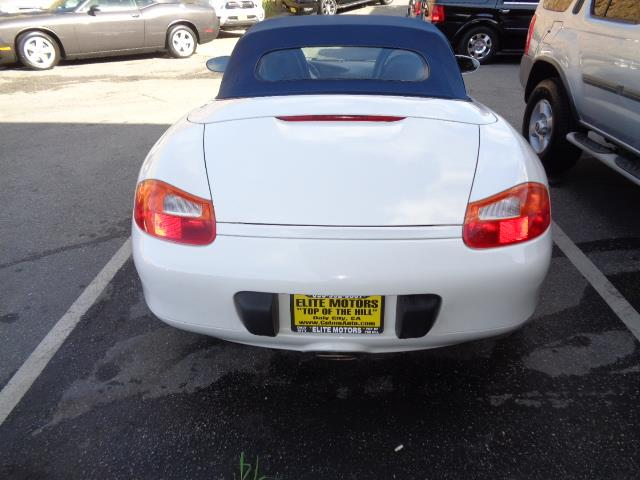 2002 PORSCHE BOXSTER BASE 2DR CONVERTIBLE carrara white aero kitcolor to sample paintmetallic pa