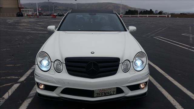 2008 MERCEDES-BENZ E-CLASS E63 AMG SEDAN arctic white brand new condition inside and out very rar