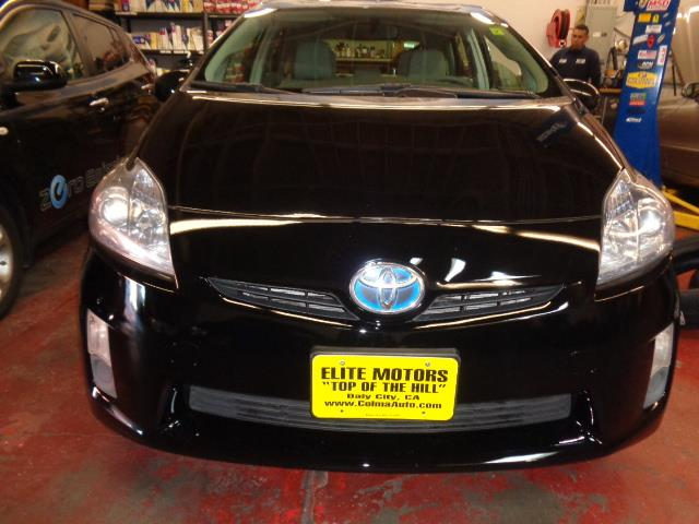 2011 TOYOTA PRIUS 4D HATCHBACK black air conditioning alarm power steering power windows powe