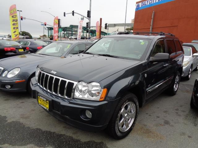 2007 JEEP GRAND CHEROKEE LIMITED 4DR SUV 4WD steel blue metallic 4 wheel drive navigation leathe